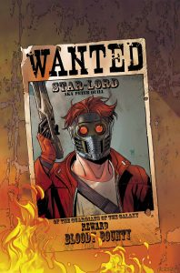 Wanted Star Lord 1 198x300 Wanted Star Lord