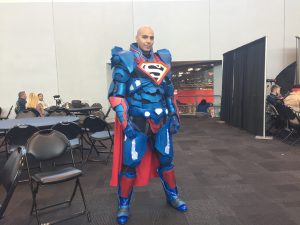 Armored Superman at 2017 New York Comic Con 300x225 Armored Superman at 2017 New York Comic Con