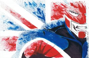 Captain Britain by Shadow Renderer 300x195 Captain Britain by Shadow Renderer