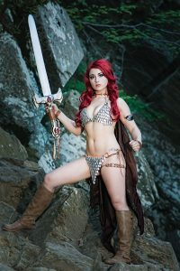 Red Sonja 8 Cover F Cosplay Virgin Variant 200x300 Red Sonja #8 (Cover F Cosplay Virgin Variant)
