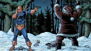 Deathstroke Vs Santa 300x169 Deathstroke Vs Santa