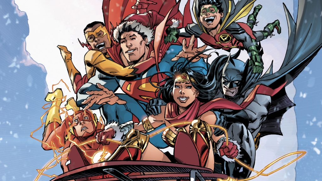 Justice League Christmas 1024x576 Justice League Christmas