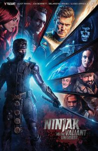 Ninjak vs the Valiant Universe movie poster 195x300 Ninjak vs the Valiant Universe movie poster