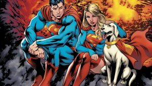 Superman Supergirl and Krypto 300x169 Superman, Supergirl and Krypto