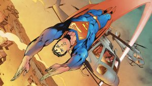 Superman buzzes a helicopter 300x169 Superman buzzes a helicopter