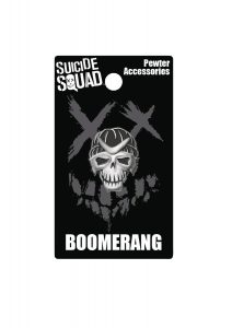SUICIDE SQUAD BOOMERANG PEWTER LAPEL PIN 212x300 SUICIDE SQUAD BOOMERANG PEWTER LAPEL PIN