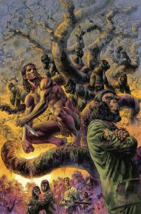 TARZAN ON THE PLANET OF THE APES 1 199x300 TARZAN ON THE PLANET OF THE APES #1