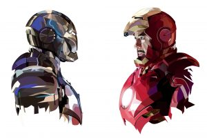 tony stark iron man art hd 300x200 tony stark iron man art hd