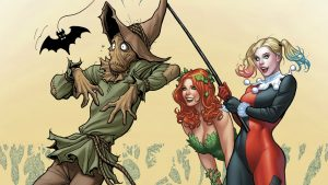 harley and ivy vs scarecrow 300x169 harley and ivy vs scarecrow