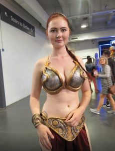 perfect slave leia cosplay 229x300 perfect slave leia cosplay