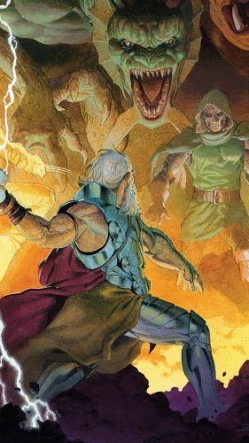 thor vs doctor doom and fing fang foom 281x500 thor vs doctor doom and fing fang foom