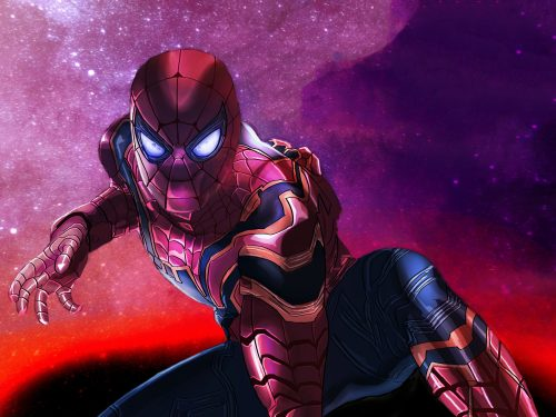 Armored Spider man 500x375 Armored Spider man