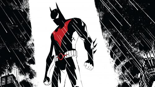 Batman Beyond in the rain 500x281 Batman Beyond in the rain