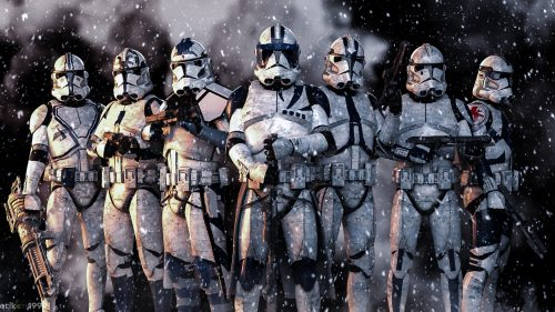 Clone Troopers in the snow 500x281 Clone Troopers in the snow