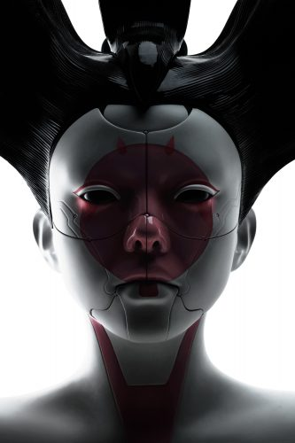 Ghost in the Shell geisha 333x500 Ghost in the Shell geisha
