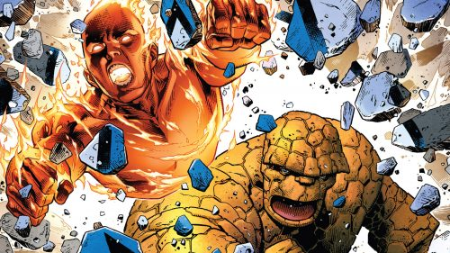 Human Torch and The Thing 500x281 Human Torch and The Thing