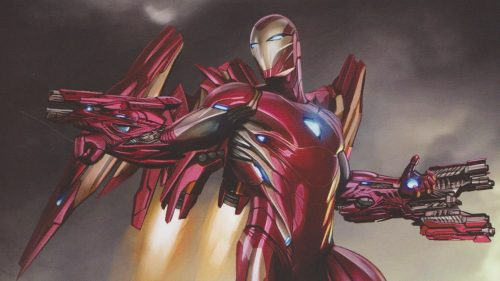 Iron man Art 500x281 Iron man Art