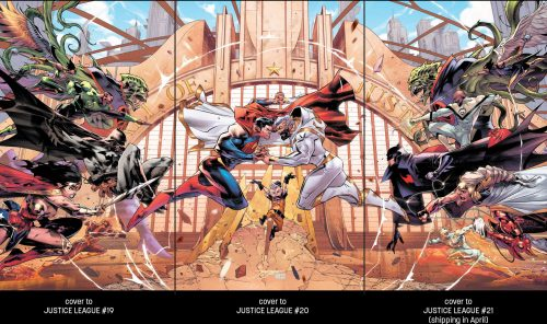 Justice League 19 21 interlocking covers 500x296 Justice League 19 21 interlocking covers