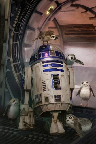 R2 D2 and his bird buddies 333x500 R2 D2 and his bird buddies