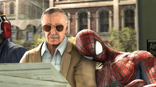 Stan Lee and Spider man 500x281 Stan Lee and Spider man
