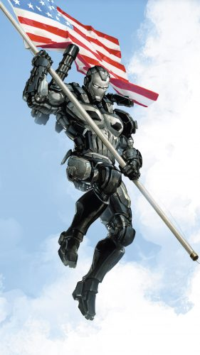 punisher war machine steals an american flag 281x500 punisher war machine steals an american flag