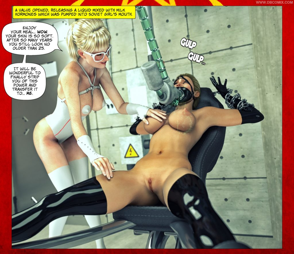 superheroine force feeding 1024x886 Superheroine Force Feeding