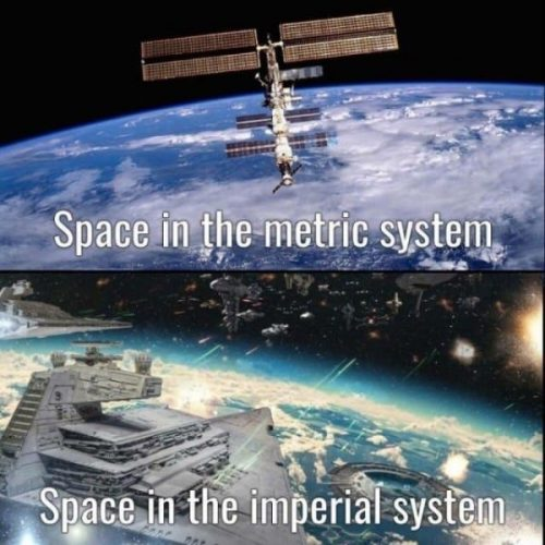 Space in the metric system 500x500 Space in the metric system