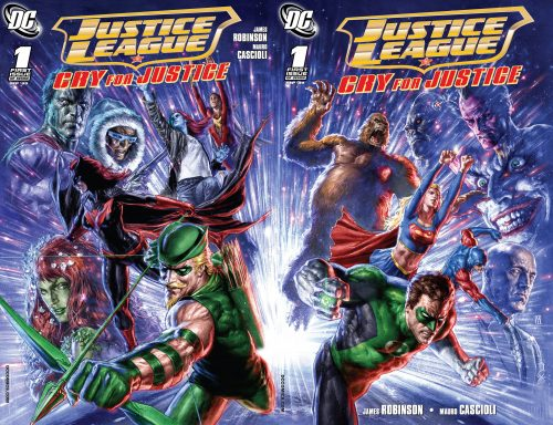 Justice League Dual Covers 500x384 Justice League Dual Covers