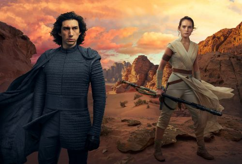 Kylo and Rey Sitting In A Tree 500x340 Kylo and Rey, Sitting In A Tree