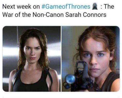 Next week on Game of Thrones The War of the Non Canon Sarah Connors 500x402 Next week on Game of Thrones  The War of the Non Canon Sarah Connors