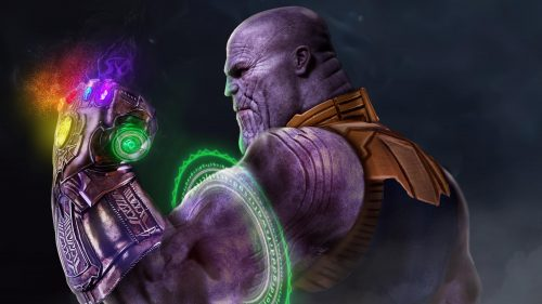 Thanos with the Gauntlet 500x281 Thanos with the Gauntlet