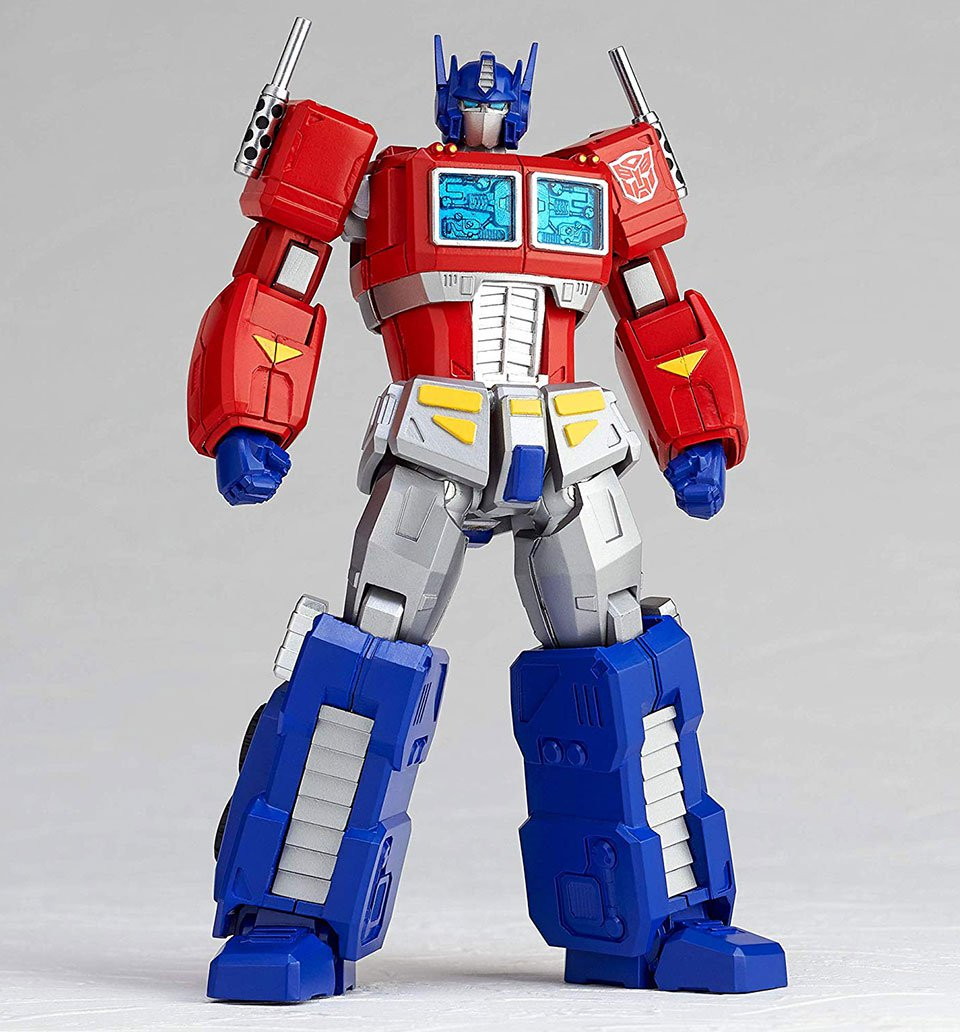 The Revoltech G1 Optimus Prime Action Figure Has the Power of Poses