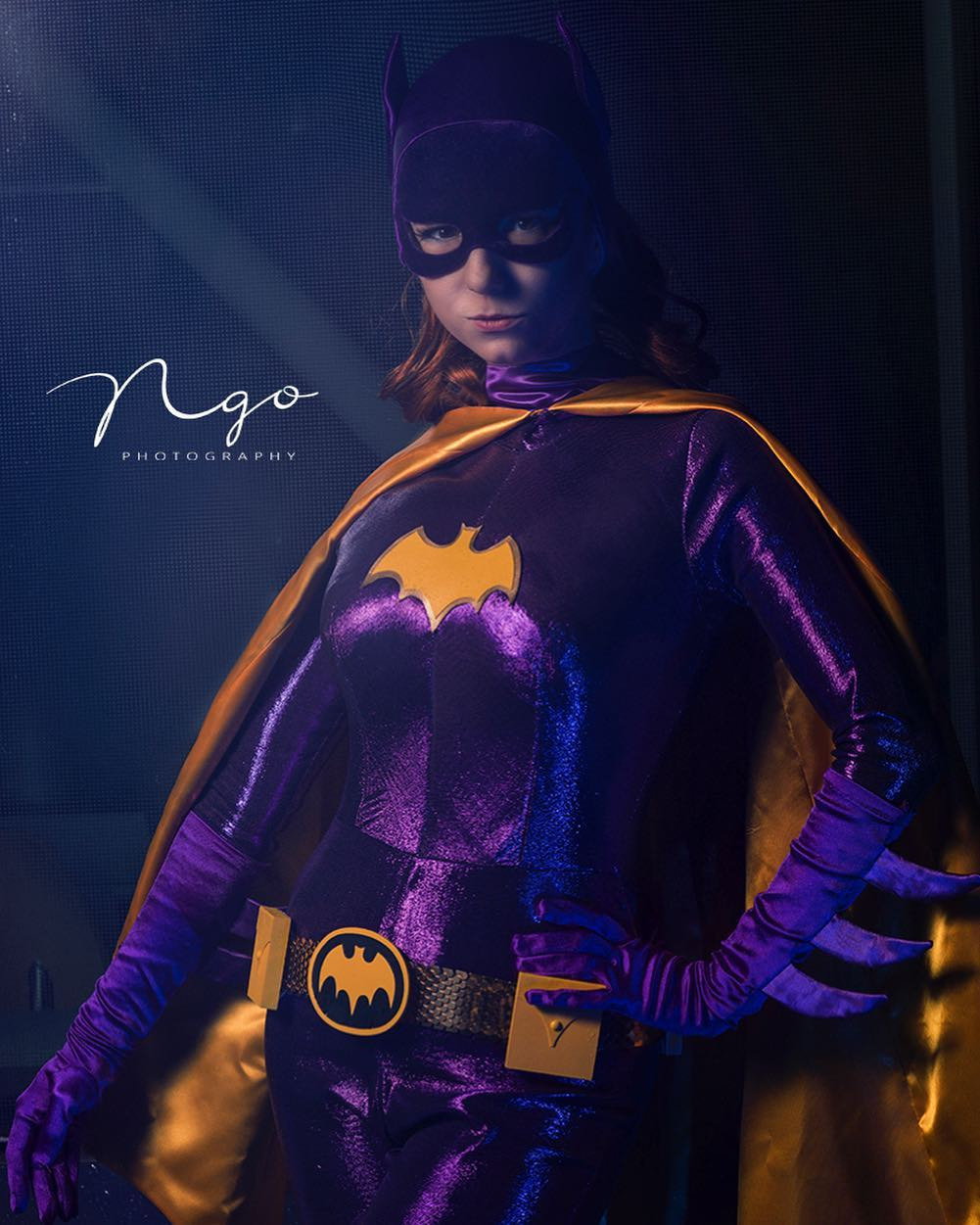 """Riki Le Cotey on Instagram: """"""""There's more to life than fighting and training and.. y'know… the whole bat thing."""" 📸 by @hngophotography #batgirl #batman #60sbatgirl…"""""""