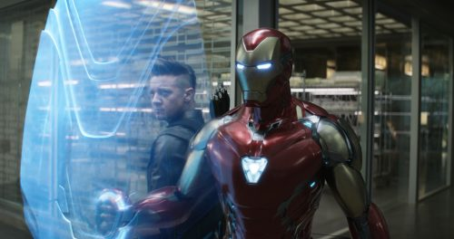 Iron man and his arrow friend 500x264 Iron man and his arrow friend
