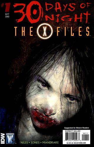30 days of night the x files 0001a 320x500 30 days of night   the x files 0001a