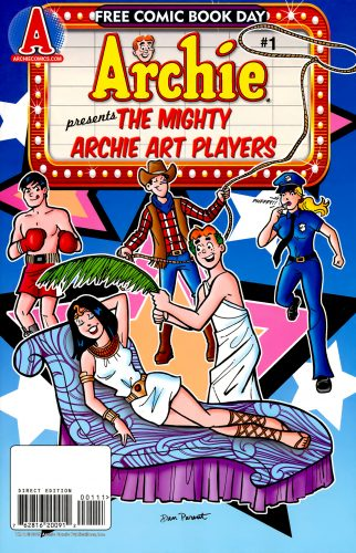 Archies presents the mighty archie art players FCBD 2009 322x500 Archies presents the mighty archie art players FCBD 2009