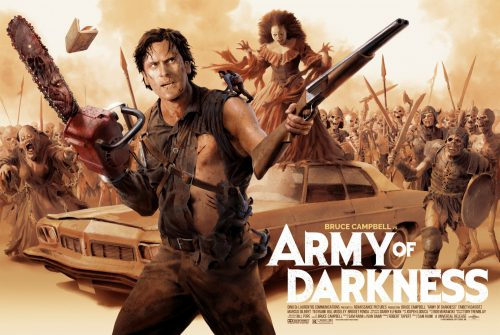 Army of Darkness movie poster wallpaper 500x335 Army of Darkness movie poster wallpaper