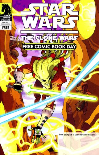 Star Wars The Clone Wars FCBD 2009 321x500 Star Wars  The Clone Wars  FCBD 2009