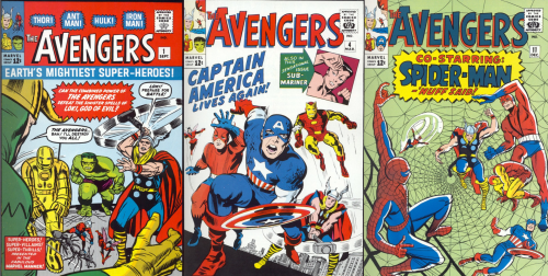 The Avengers Covers 500x252 The Avengers Covers