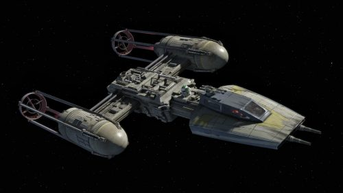 Y Wing In space 500x281 Y Wing In space