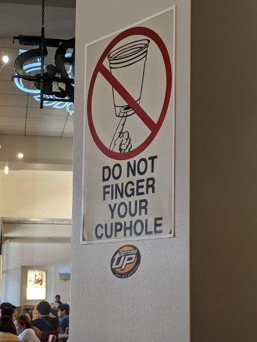 do not finger your cuphole 375x500 do not finger your cuphole