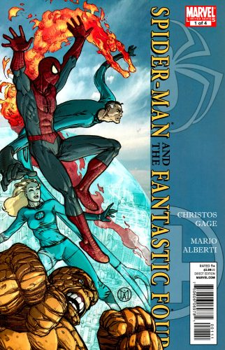 spider man and the fantastic four 0001 322x500 spider man and the fantastic four 0001