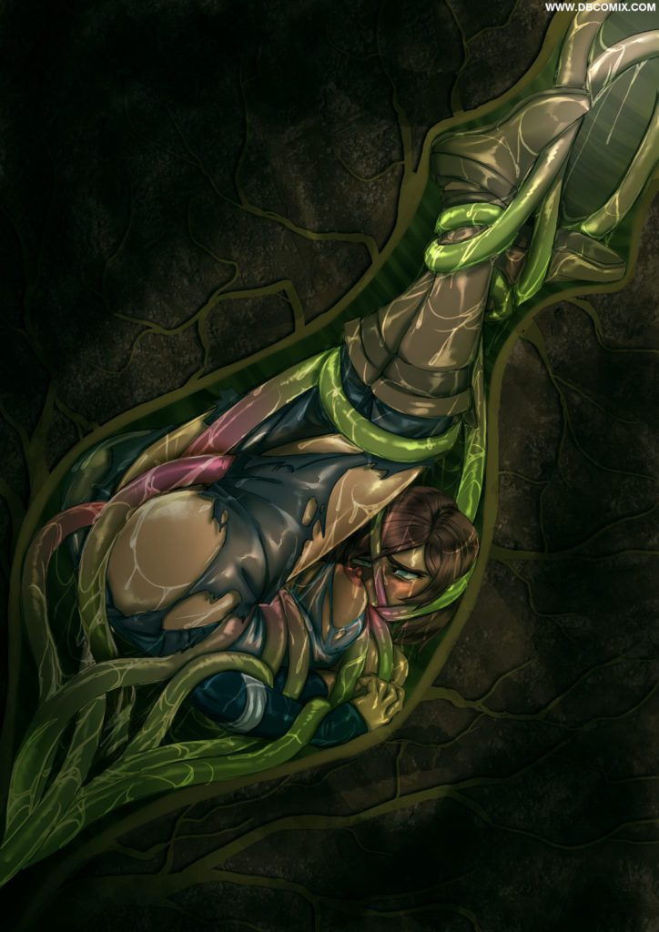 Comic-Images » Korra Bothered by Tentacles clear
