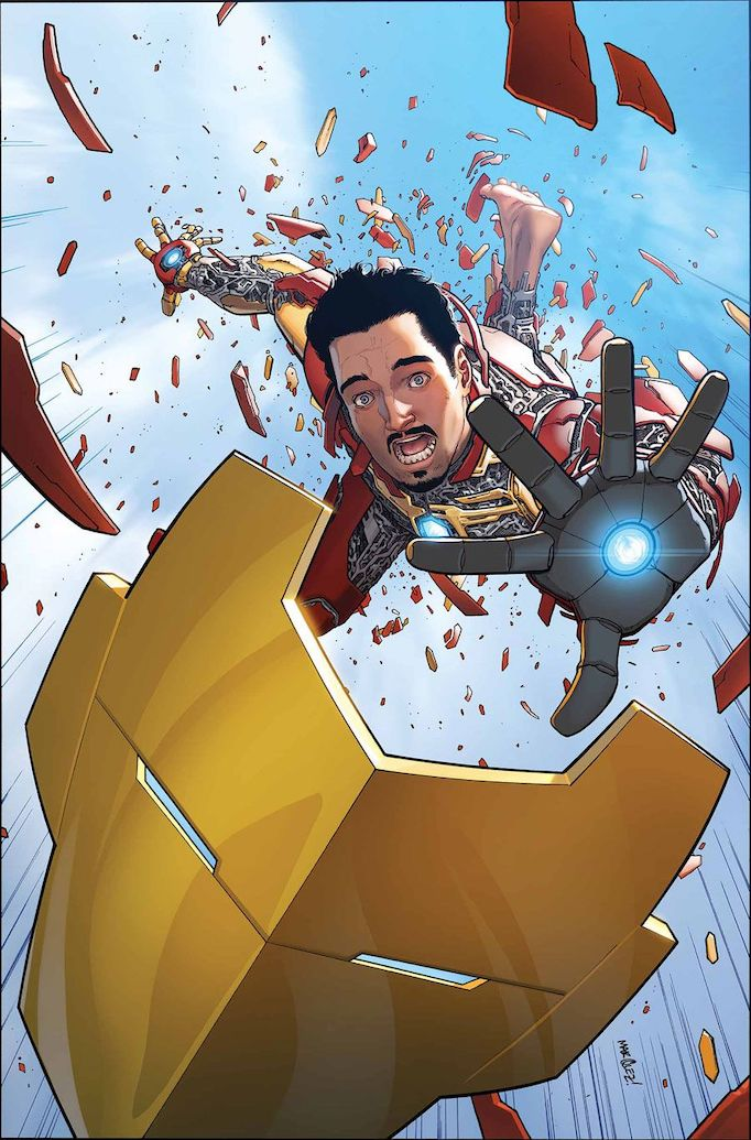Iron Man cover by David Marquez