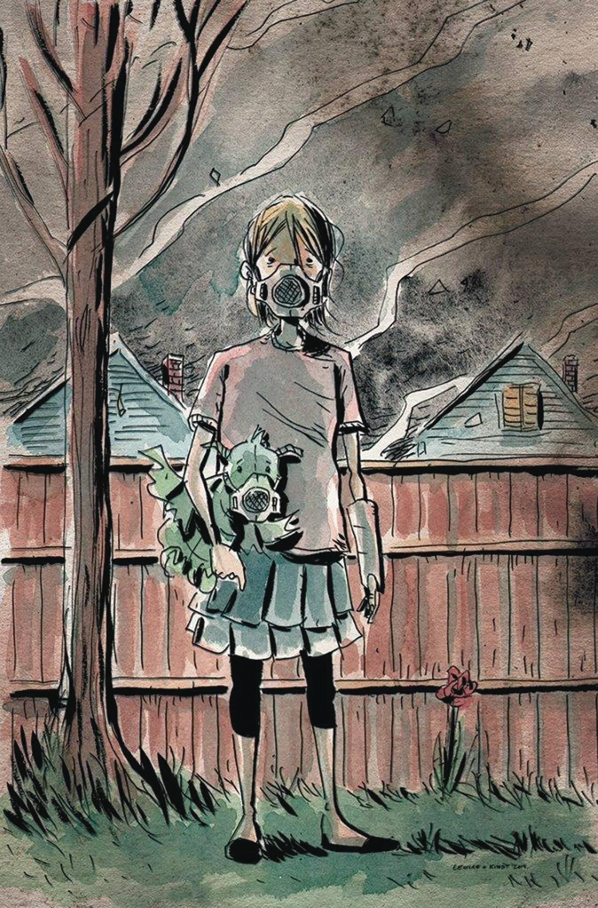 Cover to Breathers #1 by Jeff Lemire and Matt Kindt