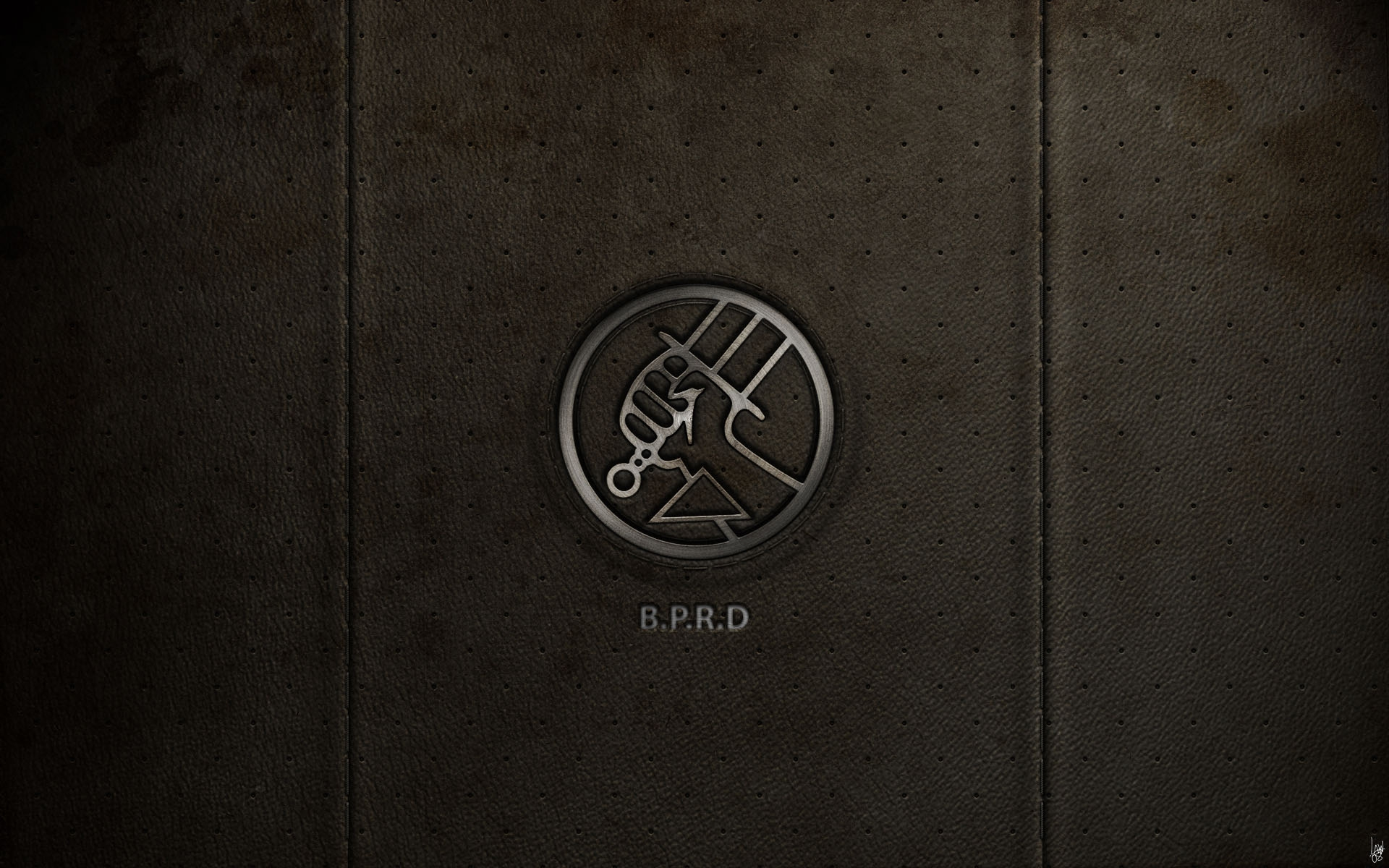 BPRD on Leather