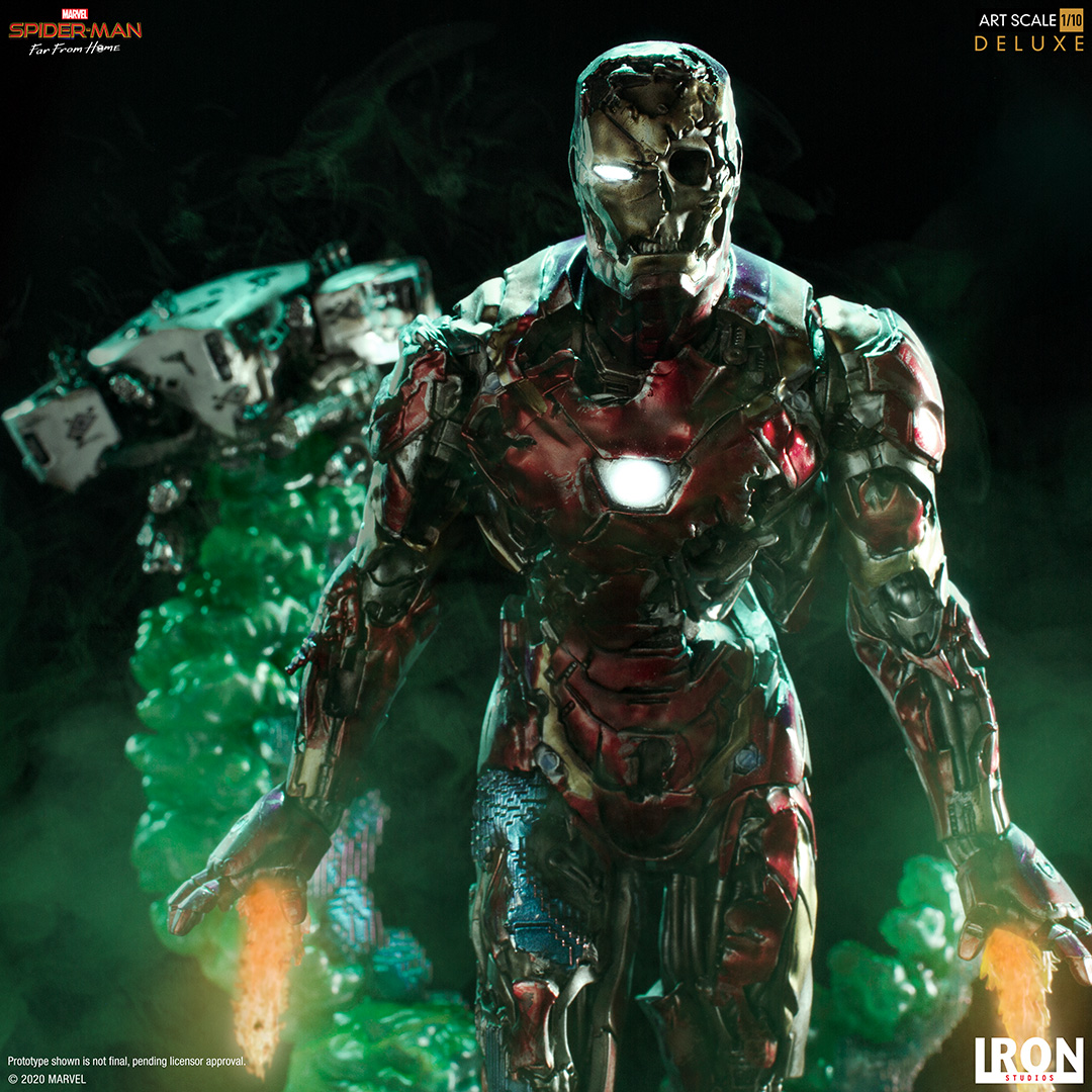 Spider-Man Far From Home – Iron Man Illusion Statue by Iron Studios